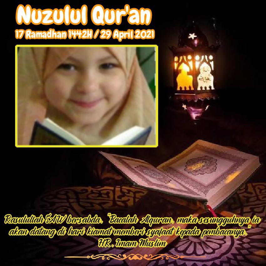 nuzulul quran ramadhan 1442 H