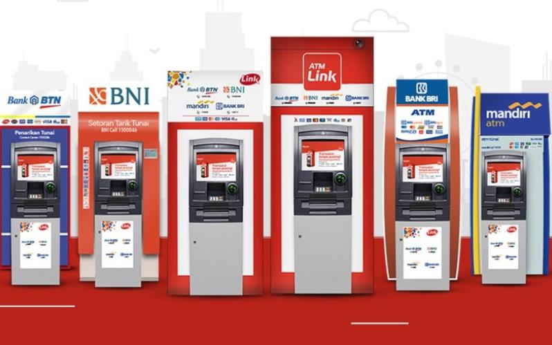 Biaya tarik tunai ATM Link