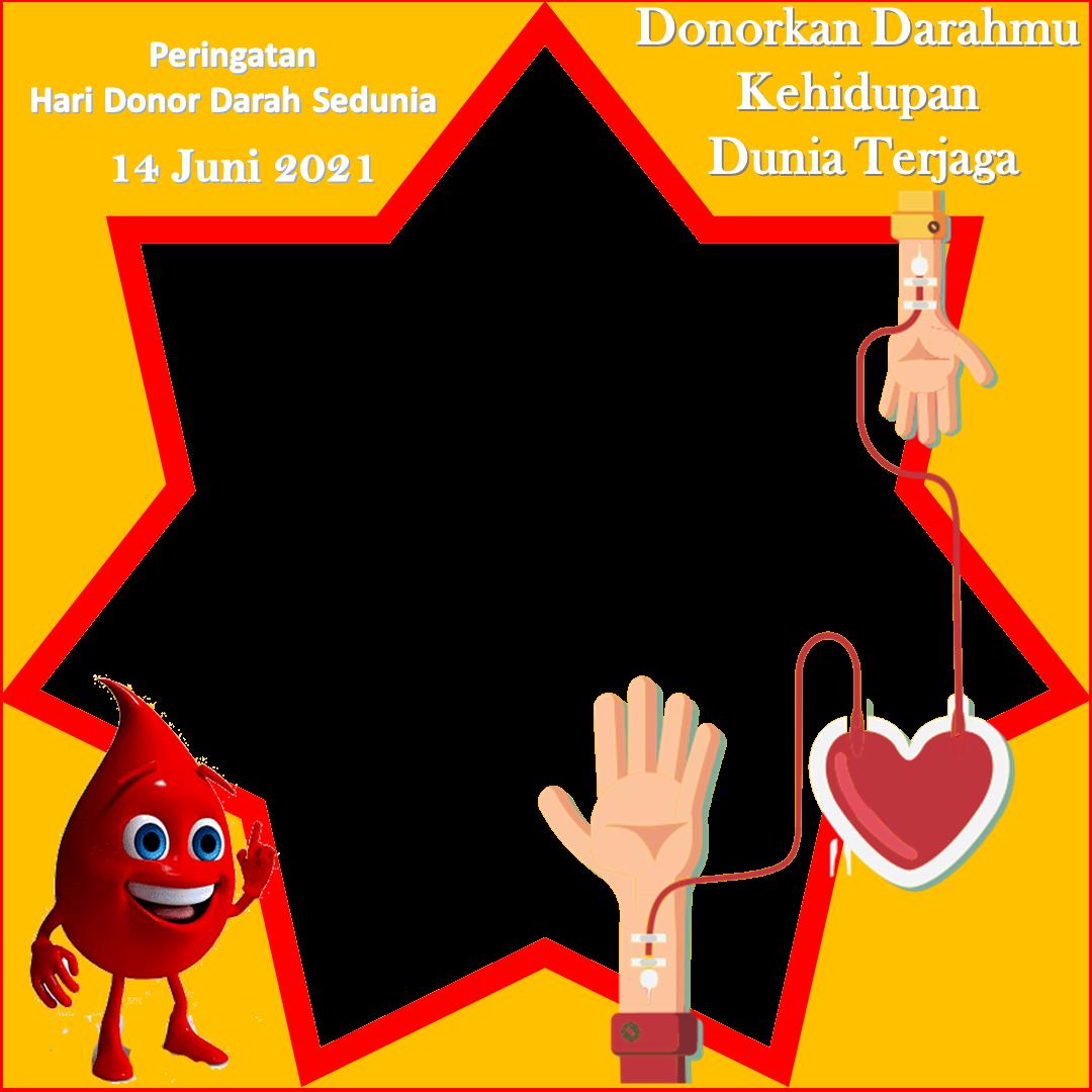 design Hari Donor Darah Sedunia 2021