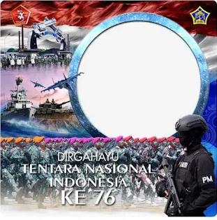 Twibbon HUT TNI KE 76